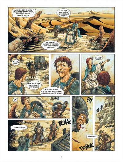 Page 5 croisade T.5 - Gauthier de Flandre