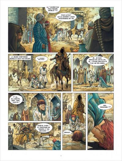Page 9 croisade T.5 - Gauthier de Flandre