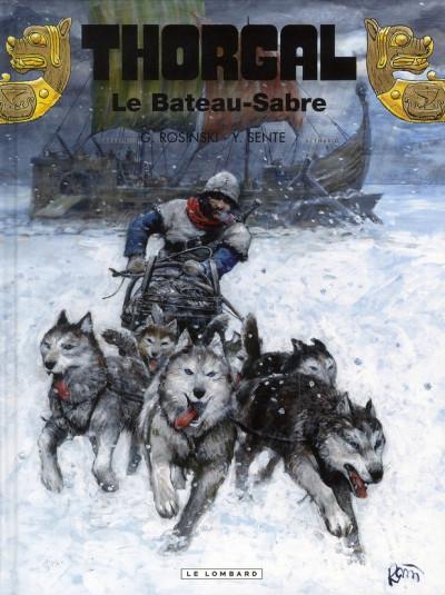 Couverture Thorgal tome 33 - Le Bateau-Sabre