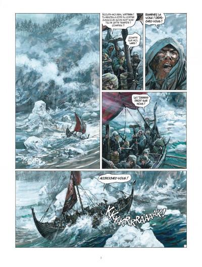 Page 3 Thorgal tome 33 - Le Bateau-Sabre