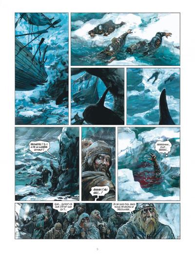 Page 5 Thorgal tome 33 - Le Bateau-Sabre