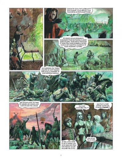 Page 8 Thorgal tome 33 - Le Bateau-Sabre