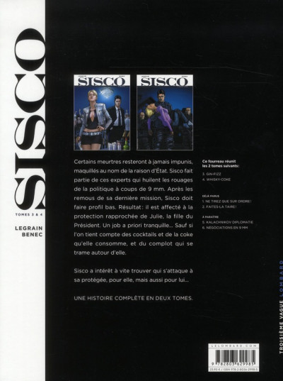 Dos Sisco - fourreau tome 3 et tome 4