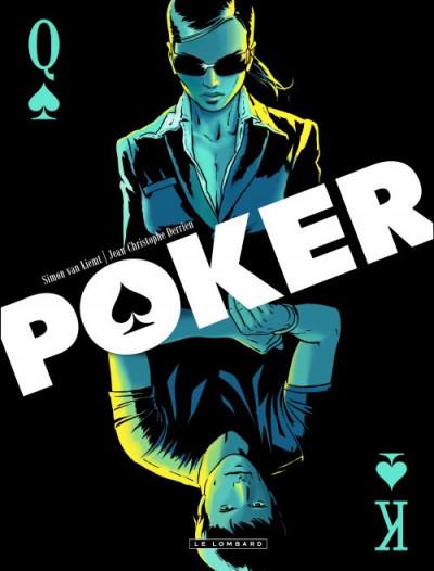 Couverture poker - coffret tome 1 et tome 2