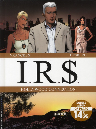 Couverture ir$ - irs - Hollywood connection - tome 11 et tome 12