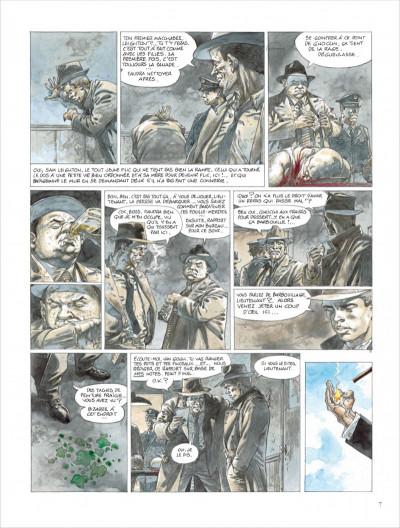 Page 7 liens de sang - tome 0 - liens de sang (nouvelles maquette signe)