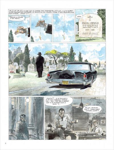 Page 8 liens de sang - tome 0 - liens de sang (nouvelles maquette signe)