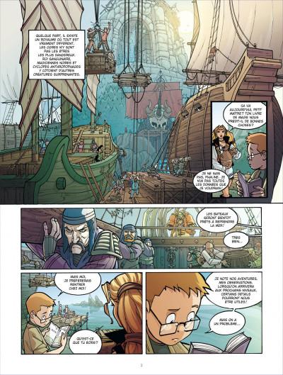 Page 3 le maître des ogres tome 3 - l'antre des pouvoirs