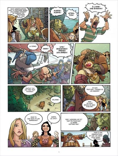 Page 5 le maître des ogres tome 3 - l'antre des pouvoirs