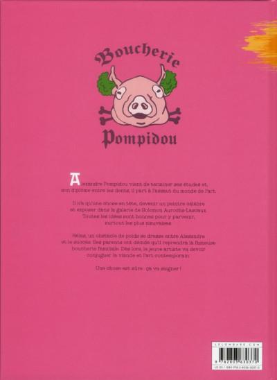 Dos Alexandre Pompidou tome 1 - lard moderne