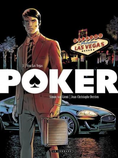 Couverture poker tome 3 - viva las vegas