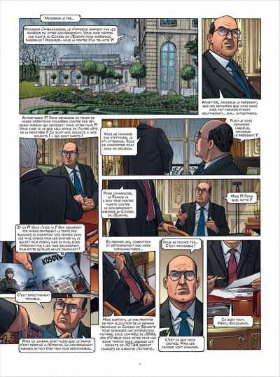 Page 9 Sisco tome 5 - kalachnikov diplomatie