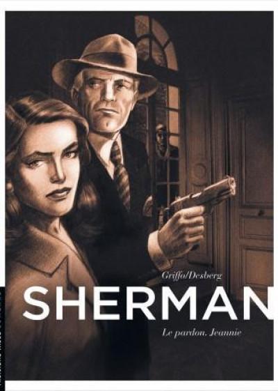 Couverture sherman tome 6 - le pardon. jeannie