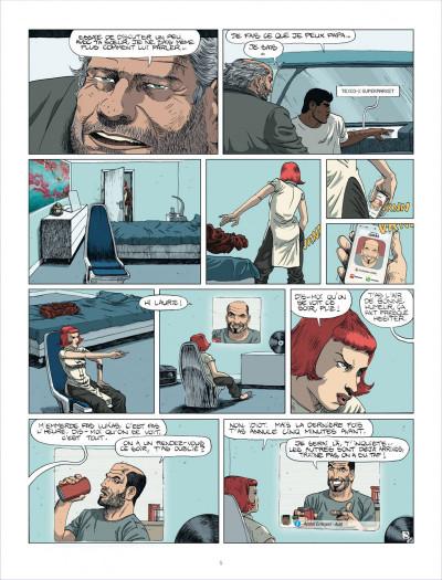 Page 5 au royaume des aveugles tome 1 - les invisibles