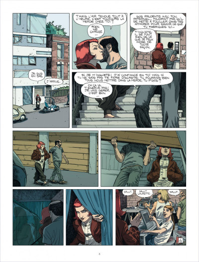Page 8 au royaume des aveugles tome 1 - les invisibles