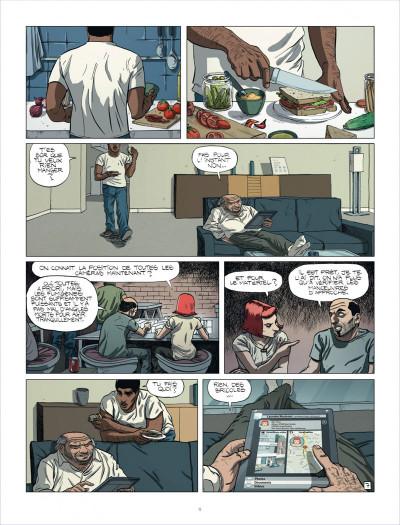 Page 9 au royaume des aveugles tome 1 - les invisibles