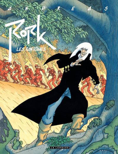 Couverture Rork tome 0 - les fantômes