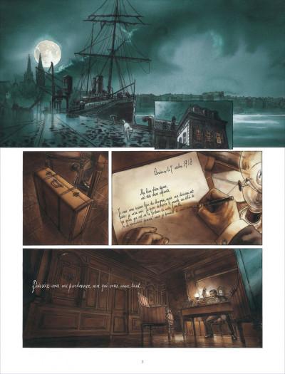 Page 3 la ballade de magdalena tome 1 - La stratégie du poisson flûte