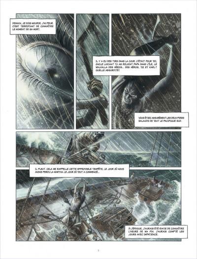 Page 5 la ballade de magdalena tome 1 - La stratégie du poisson flûte