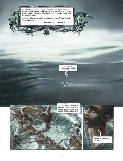 Page 6 la ballade de magdalena tome 1 - La stratégie du poisson flûte