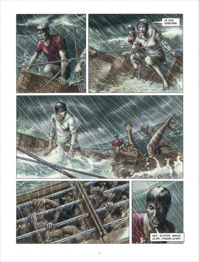 Page 8 la ballade de magdalena tome 1 - La stratégie du poisson flûte