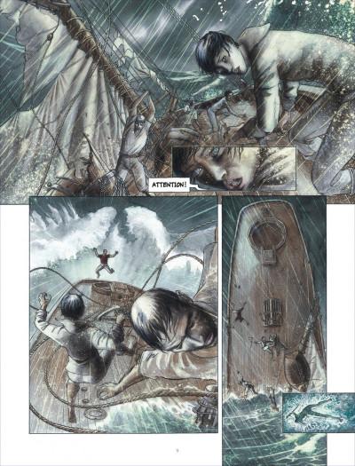 Page 9 la ballade de magdalena tome 1 - La stratégie du poisson flûte