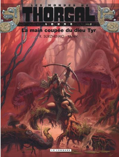 Couverture Les mondes de Thorgal - Louve tome 2
