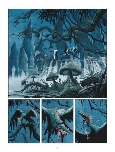 Page 3 Les mondes de Thorgal - Louve tome 2