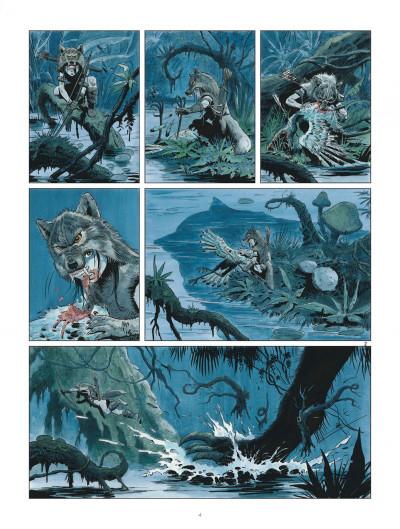 Page 4 Les mondes de Thorgal - Louve tome 2