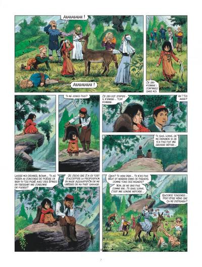Page 7 Les mondes de Thorgal - Louve tome 2
