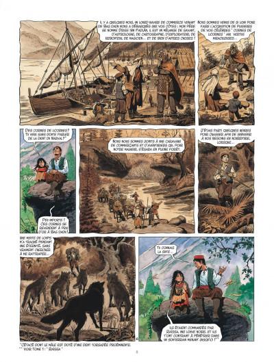 Page 8 Les mondes de Thorgal - Louve tome 2