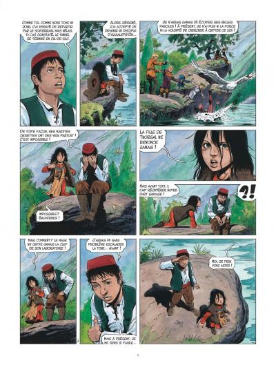 Page 9 Les mondes de Thorgal - Louve tome 2