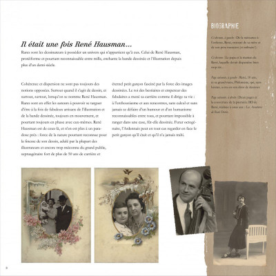 Page 8 René Hausman ; les mémoires d'un pinceau