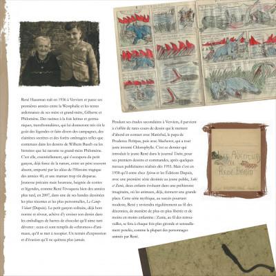Page 9 René Hausman ; les mémoires d'un pinceau