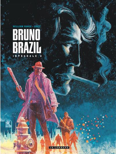 Couverture Bruno Brazil - intégrale tome 2