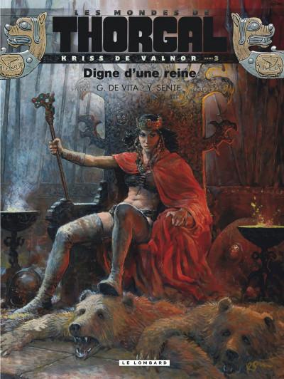 Couverture Les mondes de Thorgal - Kriss de Valnor tome 3