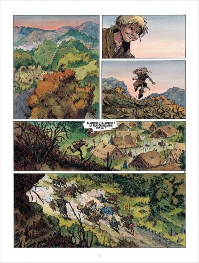 Page 2 Les mondes de Thorgal - Kriss de Valnor tome 3