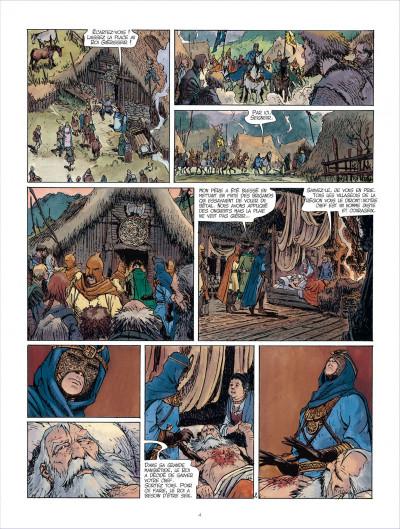 Page 4 Les mondes de Thorgal - Kriss de Valnor tome 3