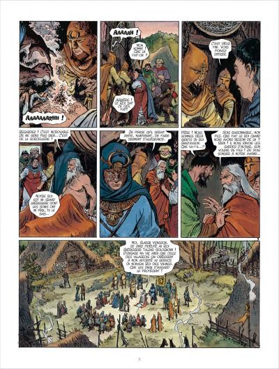 Page 5 Les mondes de Thorgal - Kriss de Valnor tome 3