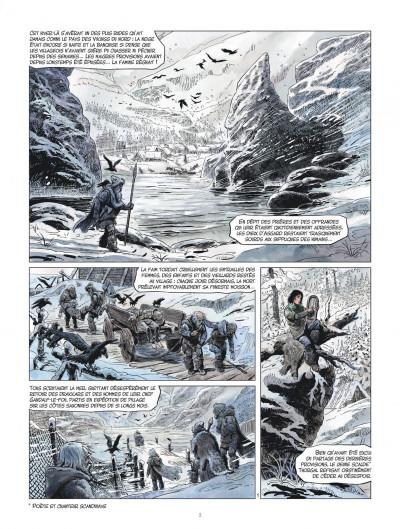 Page 3 les mondes de Thorgal - la jeunesse de Thorgal tome 1