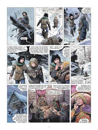 Page 4 les mondes de Thorgal - la jeunesse de Thorgal tome 1