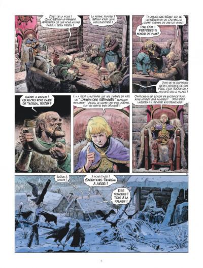 Page 5 les mondes de Thorgal - la jeunesse de Thorgal tome 1