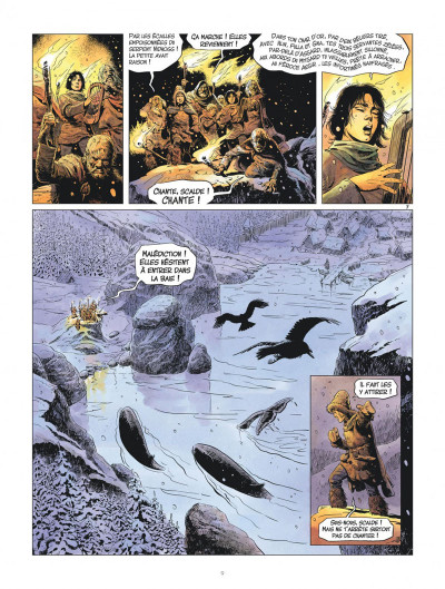 Page 9 les mondes de Thorgal - la jeunesse de Thorgal tome 1