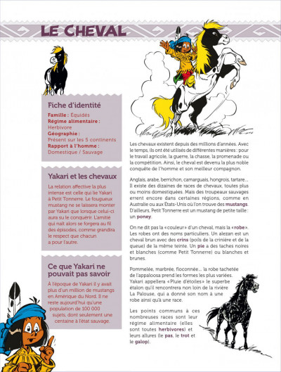Page 4 yakari  ; cachier de vacances