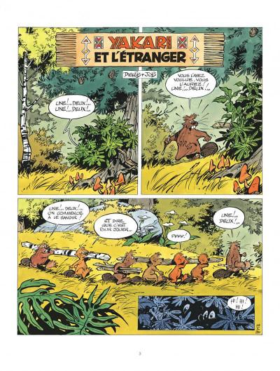 Page 3 Yakari tome 7 - et l'etranger