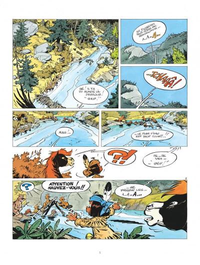 Page 5 Yakari tome 7 - et l'etranger