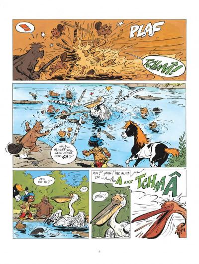 Page 6 Yakari tome 7 - et l'etranger
