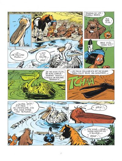 Page 7 Yakari tome 7 - et l'etranger