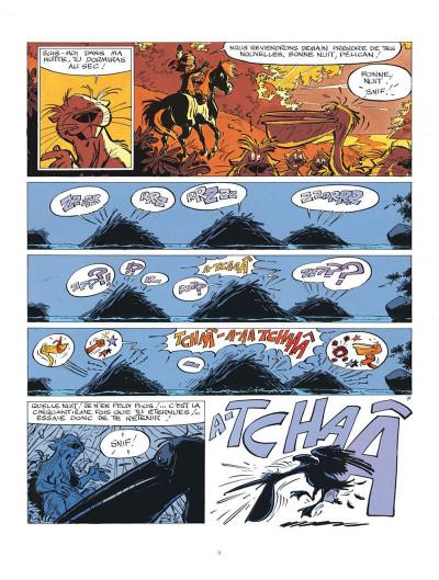 Page 9 Yakari tome 7 - et l'etranger