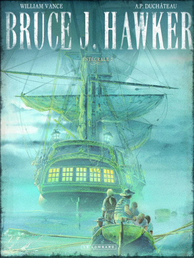 Couverture Bruce J. Hawker - intégrale tome 2